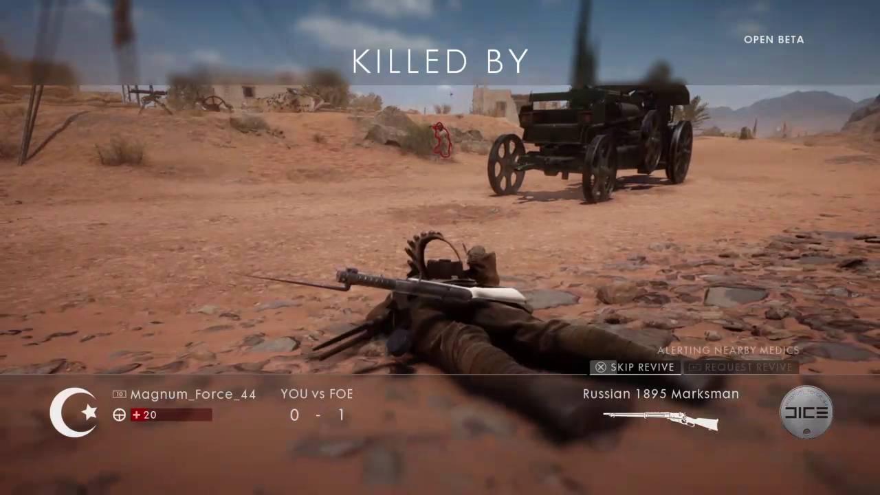 Battlefield 1 Beta Anmeldung