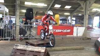OSET MX-10, 24.0, Chris Northover at the 2014 Dirt Bike Show!