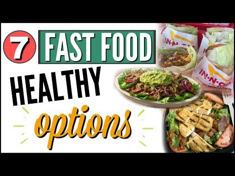 ��EASY HEALTHY FAST FOOD OPTIONS ��TOP 7 KETO / LOW CARB FAST FOOD RESTAURANTS �� WHAT TO ORDER