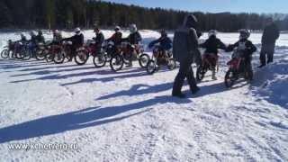 Региональный турнир по мотокроссу в Качканаре 23.02.2014