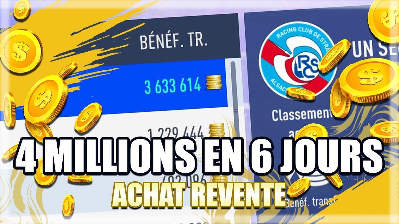 FIFA 19 | ACHAT REVENTE : COMMENT AI-JE GAGNÉ PRÈS DE 4 MILLIONS EN 6 JOURS ?