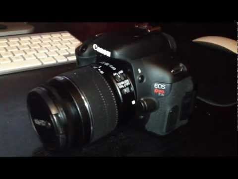 Canon Rebel t3i accessories (5 must haves)