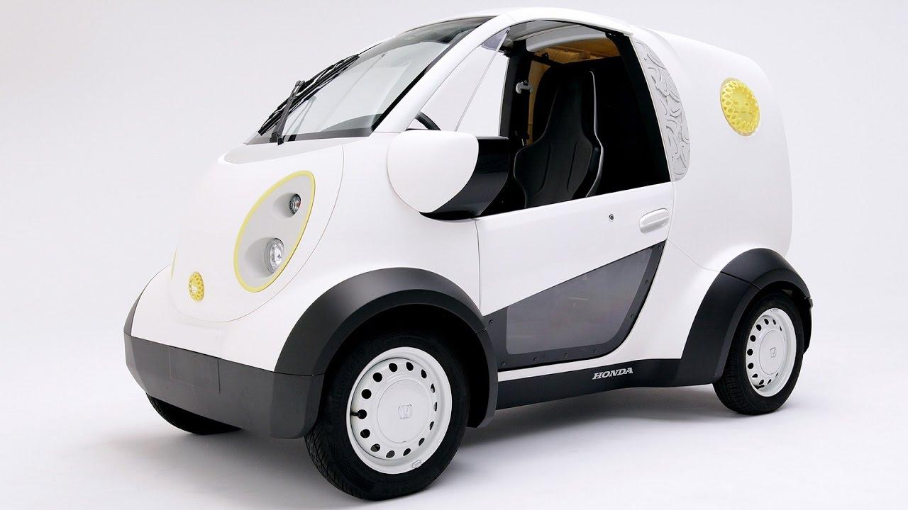 2016 Electric Vehicle Printed Honda Micro Commuter