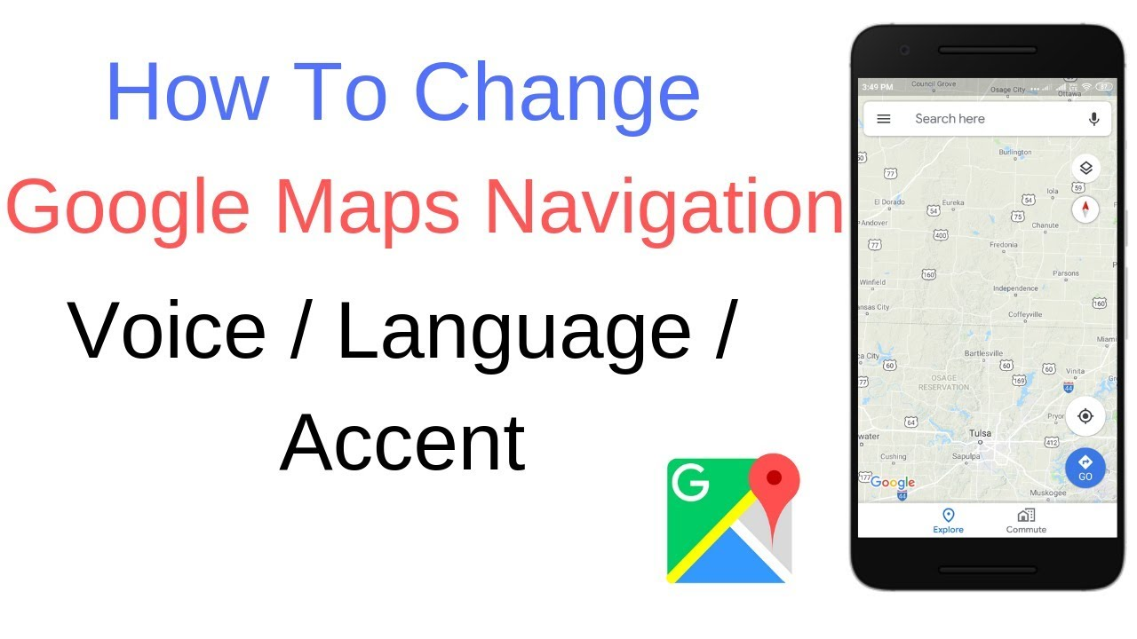 Change Google Maps Language on