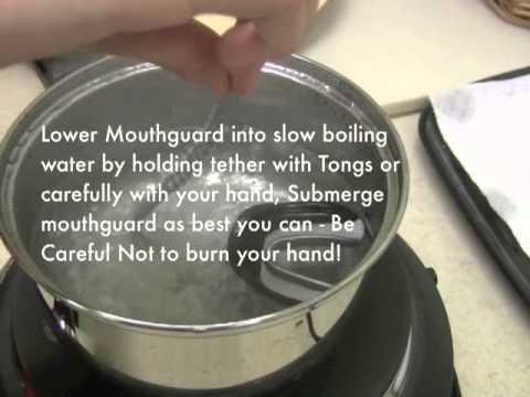 Xo Id Mouthguard Instructions Std Youtube
