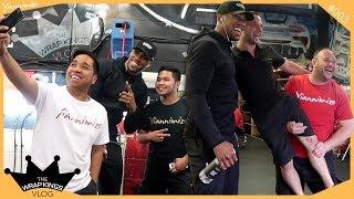 Anthony Joshua Visits Yiannimize | The Wrap Kings Vlog ep003