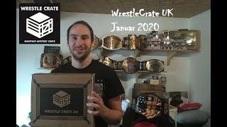 WrestleCrate UK Unboxing Januar 2020   German Belt Talk   Deutsch