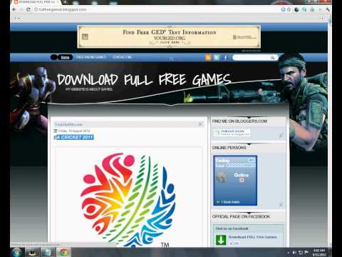 HOW TO DOWNLOAD EA CRICKET 2011