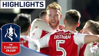 Video Fleetwood's 2-0 Win Sets Up Vardy Return in 3rd Round! | Highlights | Emirates FA Cup 2017/18 download MP3, 3GP, MP4, WEBM, AVI, FLV Oktober 2018