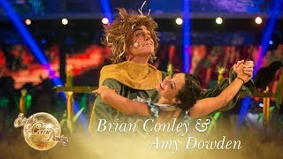 Brian Conley and Amy Dowden American Smooth to 'If I Only Had A Brain' - Strictly Come Dancing 2017