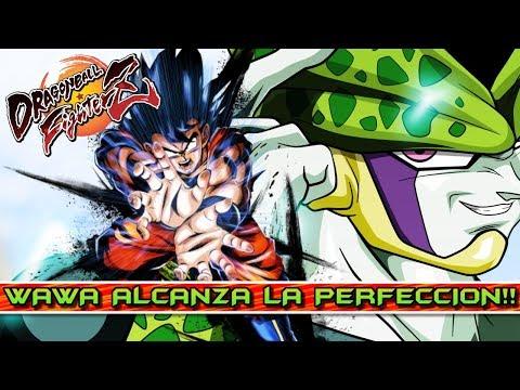 WAWA ALCANZA LA PERFECCIÓN con CELL y GOKU BASE!! DRAGON BALL FIGHTERZ