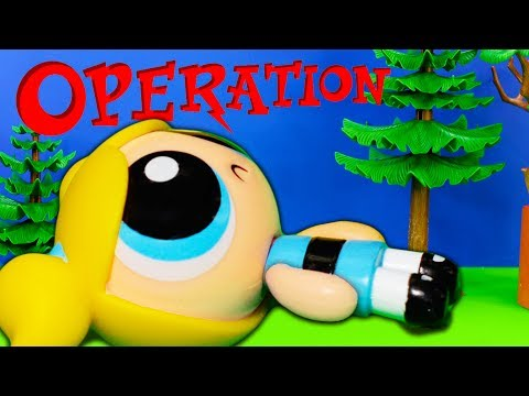 OPERATION TROLLS Surprise Cartoon Network PowerPuff Girls with Surprise Poppy Funny Video