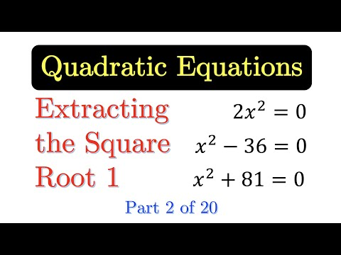 how to remember square roots