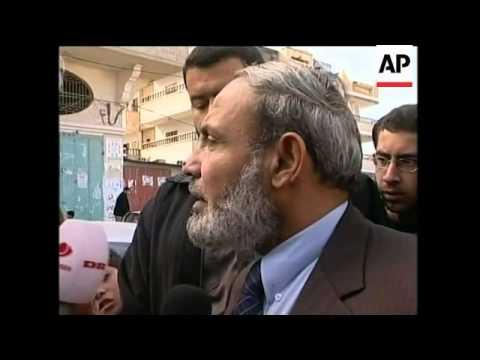 Hamas leaders, Abbas, Livni, Fatah and Hamas rallies