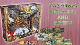 Yashima: Legend of the Kami Masters - Unboxing and Review