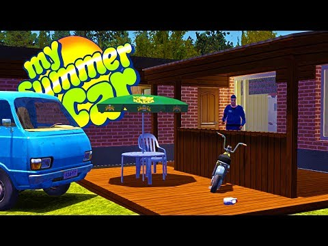 MY SUMMER NEW HOUSE CONSTRUCTION! Our Neighbor Is Crazy - My Summer Car Gameplay Highlights Ep 73
