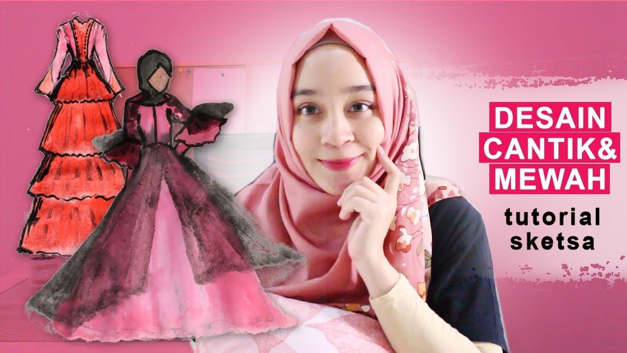Model Baju Muslim Cantik Dan Mewah