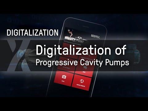 Digitalization of progressive cavity pumps