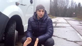 Зимняя резина на Газель Nokian Nordman C(Грузовая зимняя резина для легких грузовиков типа Газель. Что осталось от них за 70 000 км в этом видео http://www.yo..., 2014-10-29T17:47:01.000Z)