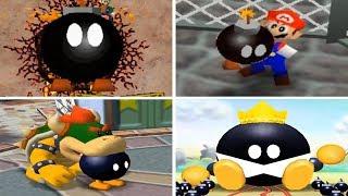 Evolution of  Bobomb Minigames in Mario Party