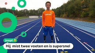 Olivier is de jongste Nederlander op de WK Para Atletiek