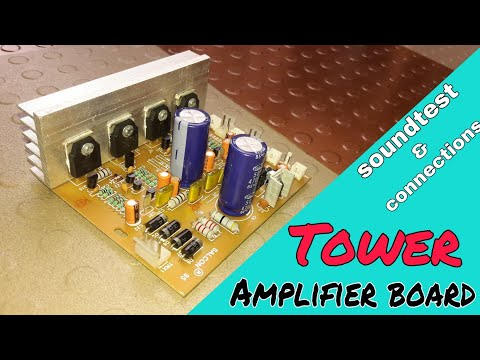 SALCON 2.2 Tower Audio Amplifier Board | D718 And B688 Based | Tower System Board | SOUNDTEST |