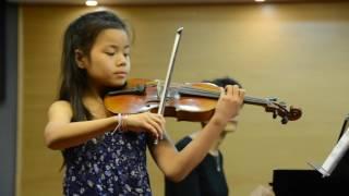 Alicia violin, Bériot, Scene de Ballet Op.100, Violine.