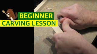 Beginner Woodcarving - Basic Cuts