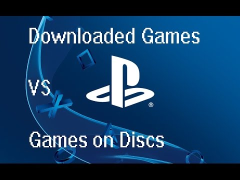 Are Downloaded games worth buying over discs? (PS4, PlayStation Network)