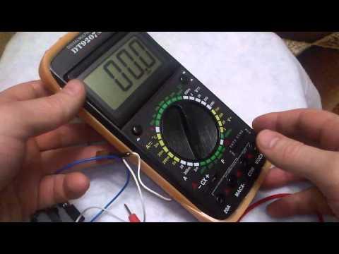 Цифровой мультиметр DT9207A -