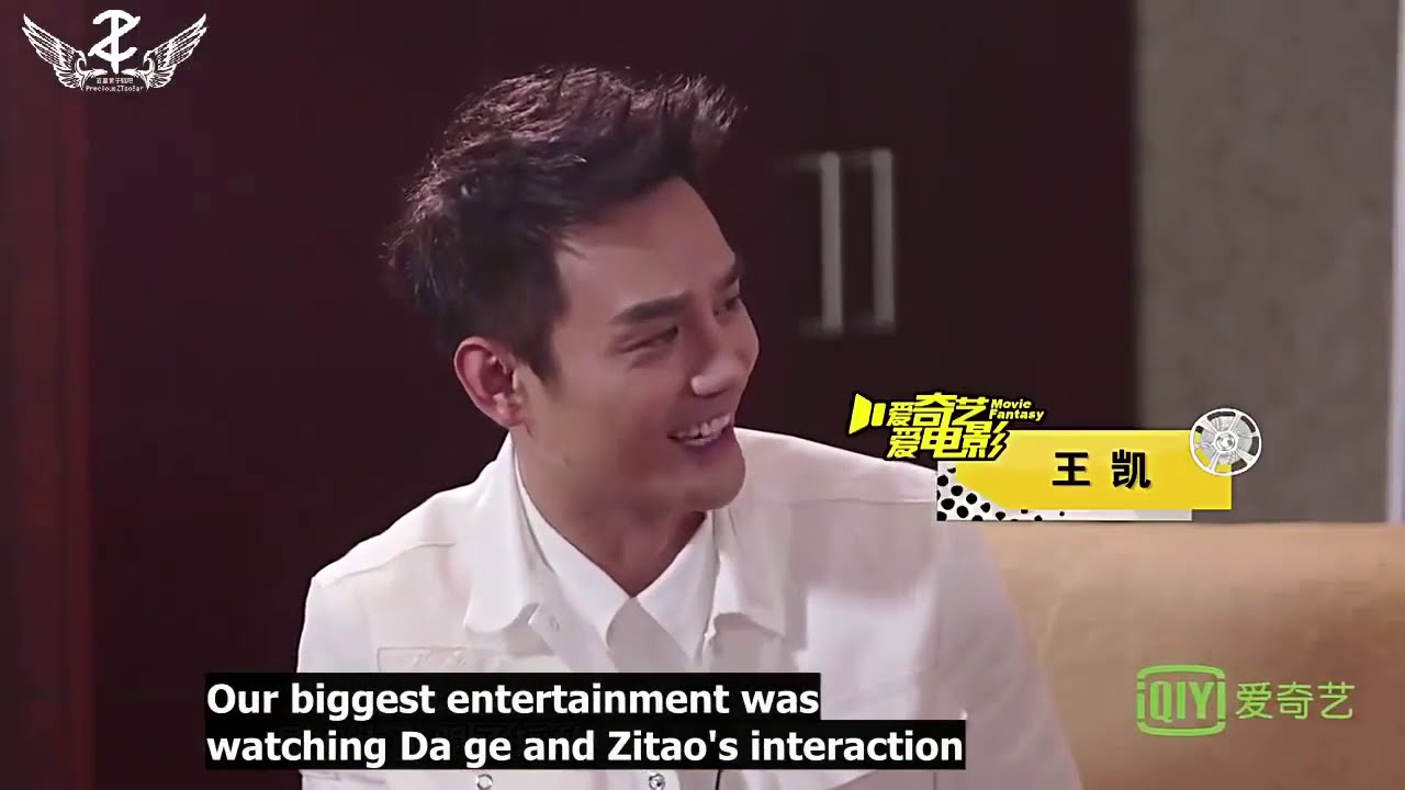 """Download Jackie Chan talking about ZTao about """"Railroad Tigers"""" filming experience with him"""