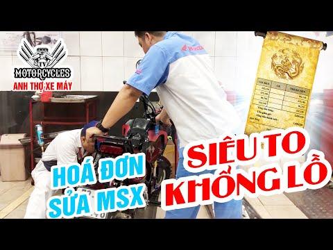 Thợ Hãng Làm Gì Với XE MSX 125 Mà Motorcycles TV Tạo PAL