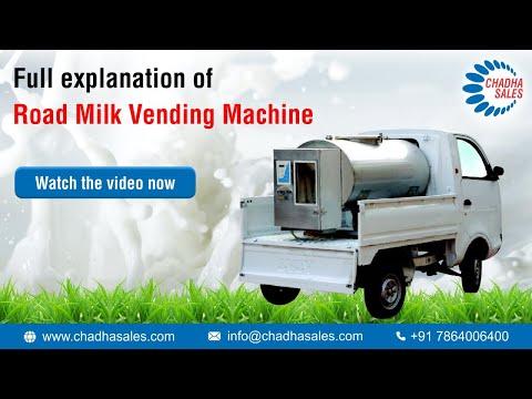Road Milk Vending Machine  Operations Explained