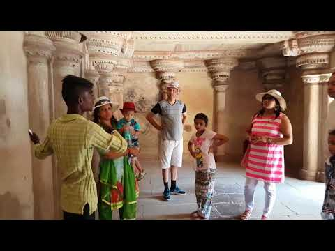 Gwalior fort with famous guide kalu part 2