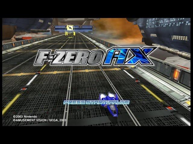 F Zero AX -  Mute City Sonic Oval (Dolphin 4.0-8711 1080p/60FPS) hidden in F-Zero GX