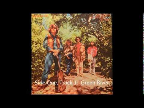 Creedence Clearwater Revival Green River vinyl