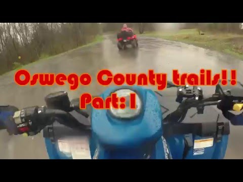 Oswego County ATV Trails: Part 1! (Polaris ETX)