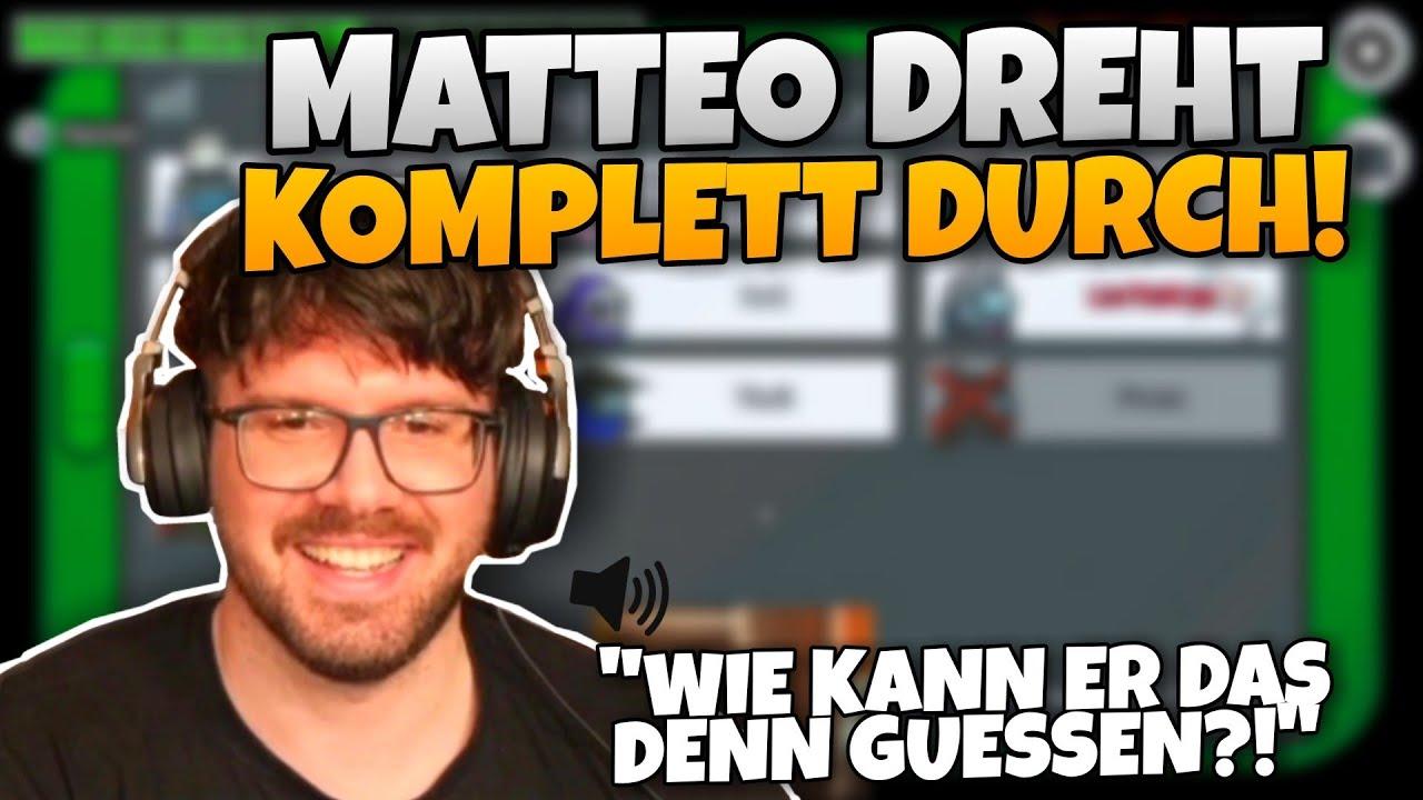 Matteo DREHT KOMPLETT DURCH & Dhalu kann NICHT VOTEN ABER GEWINNT? | Among Us Highlights