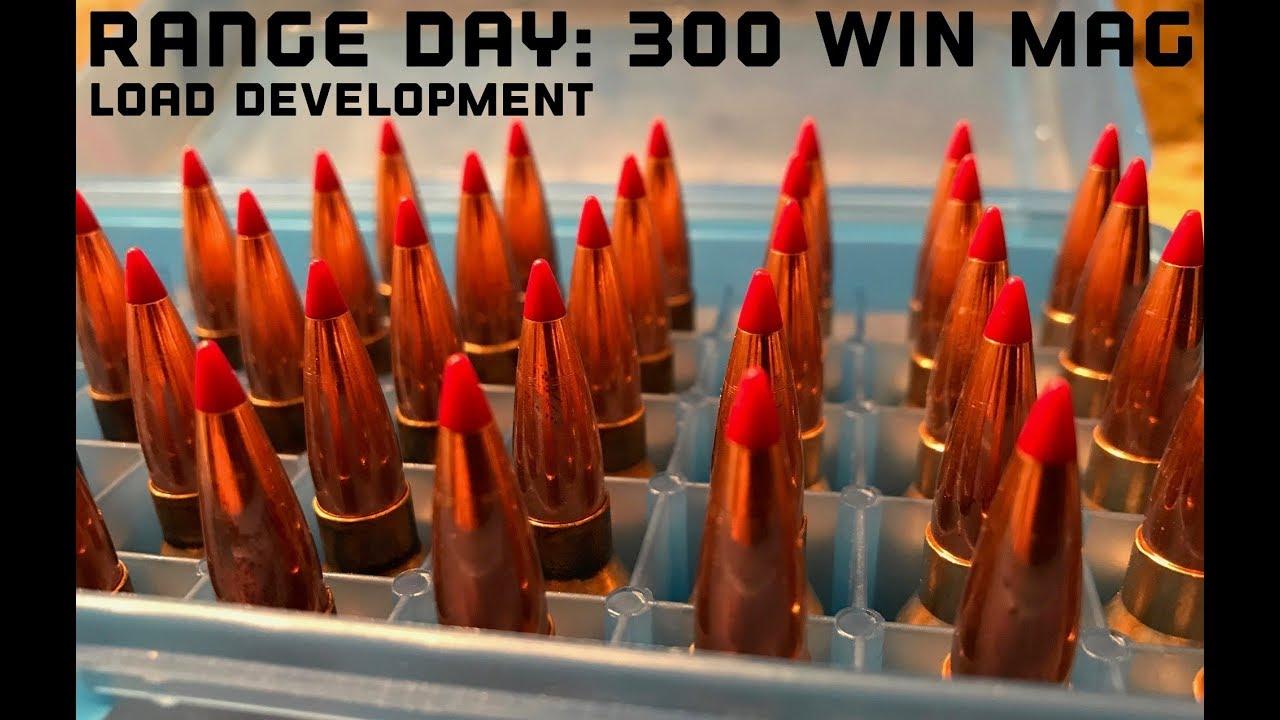 Range Day: 300 Win Mag