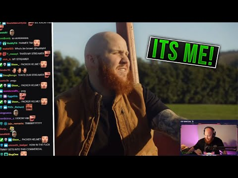 Timthetatman Reacts To His NFL Commercial