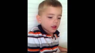 Bryson singing