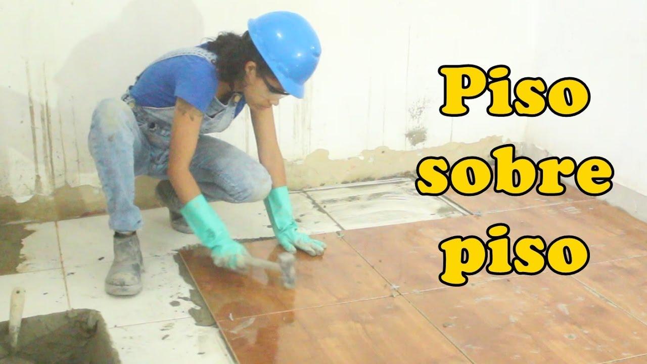 Como assentar piso sobre piso fa a voc mesmo diy - Como aplicar microcemento sobre azulejos ...