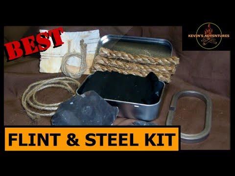 Testing a Flint & Steel Kit
