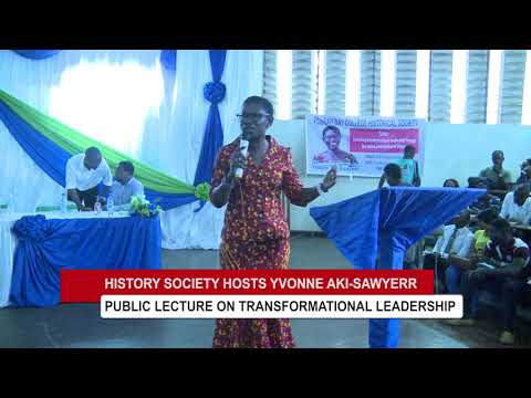 AYV TV Report on Yvonne Aki-Sawyerr's FBC Public Lecture
