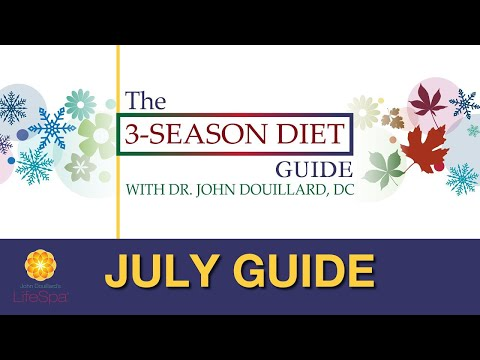 The 3-Season Diet Challenge: July guide