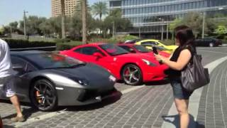 Burj Khalifa parking lot