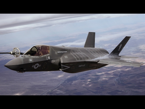 Ultra Technological F-35 in Action • Vertical Takeoff & Refueling
