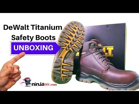 ★ DeWalt Titanium Safety Boots: Unboxing 2019 ★ (Full Review in the Description)