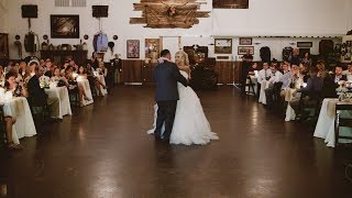 Amazing father daughter dance | St. Jean Wedding | Didn't see that coming! | Rocking H Ranch