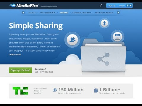 """إنشاء حساب على ميديا فير""""mediafire"""" و رفع الملفات"""